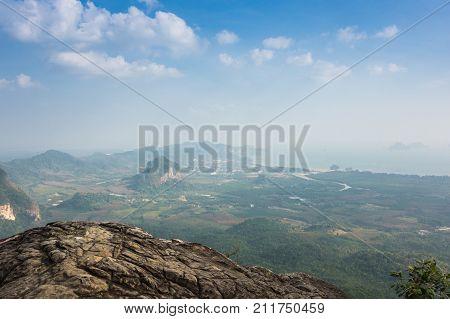 Tab Kak - Hang Nak Hill national park in Krabi province Thailand