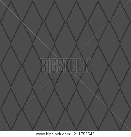 Tile black and grey background or vector pattern