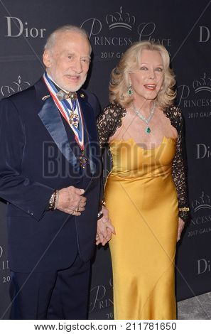 LOS ANGELES - OCT 25:  Buzz Aldrin, Guest at the 2017 Princess Grace Awards Gala at the Beverly Hilton Hotel on October 25, 2017 in Beverly Hills, CA