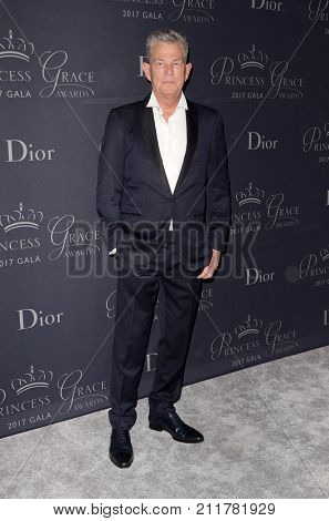LOS ANGELES - OCT 25:  David Foster at the 2017 Princess Grace Awards Gala at the Beverly Hilton Hotel on October 25, 2017 in Beverly Hills, CA
