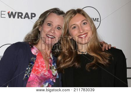 LOS ANGELES - OCT 26:  Pamela Guest, Elizabeth Guest at the Power Women Breakfast L.A. at the Montage Hotel on October 26, 2017 in Beverly Hills, CA