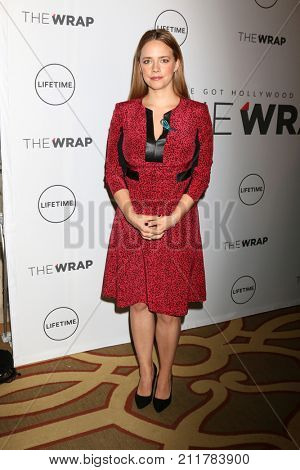 LOS ANGELES - OCT 26:  Jessica Barth at the Power Women Breakfast L.A. at the Montage Hotel on October 26, 2017 in Beverly Hills, CA
