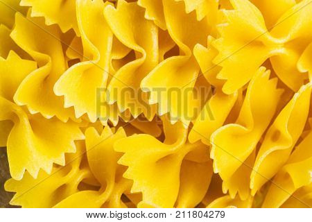 Background Of Pasta Farfatle