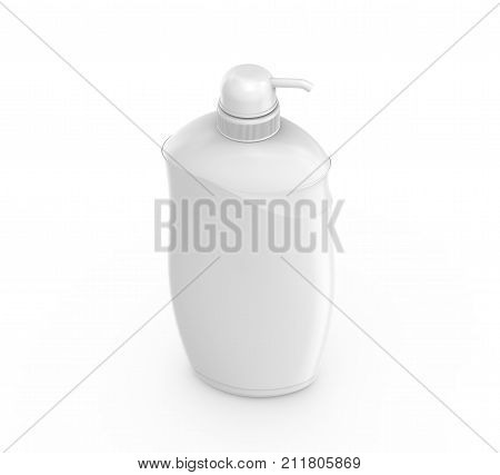 Blank Lotion Dispenser Mockup
