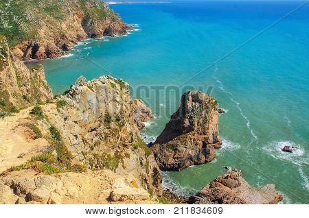 Cabo Da Roca, Cape Roca Background.