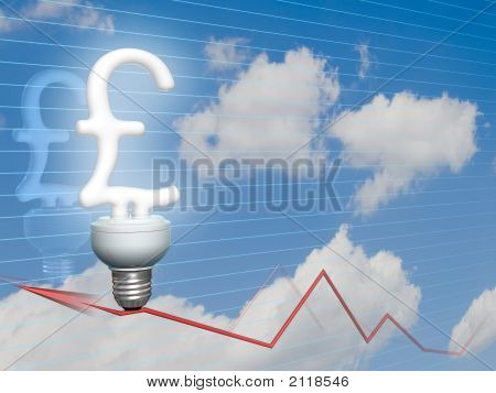 Economic Pound Sterling Bulb