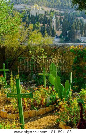 The Cemetery Of The Sisters Of Our Lady Of Zion Monastery