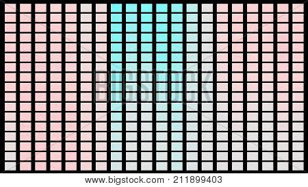 Color Palette. Palette Of Colors. Black Background Color Shade Chart.
