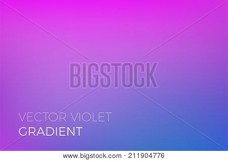Color Gradient Background Purple Blue Abstract Soft Blend Trendy Vector Light Effect