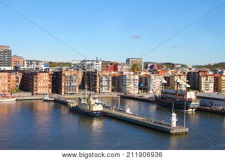 Gothenburg, Sweden On The Water