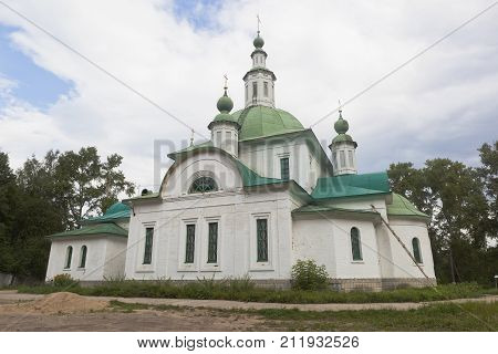 Church of the Equal-to-the-Apostles Prince Vladimir in Krasavino, Veliky Ustyug District, Vologda Region, Russia