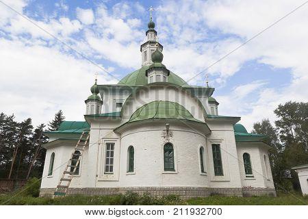 Church of St. Prince Vladimir in the city of Krasavino, Veliky Ustyug district, Vologda region, Russia