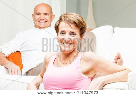 Attractive Friendly Middle-aged Couple