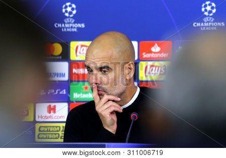 Manchester City Head Coach Josep Guardiola