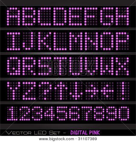 Digital Pink Set