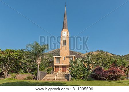Barberton, South Africa - May 2, 2019: The Dutch Reformed Church In Barberton In The Mpumalanga Prov