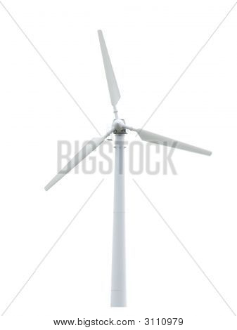 Wind Turbine Isolated. Alternative Energy Source.