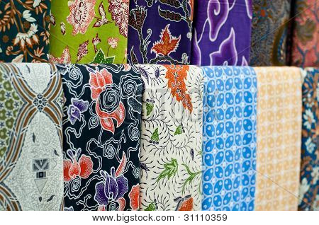 Colourful Batik