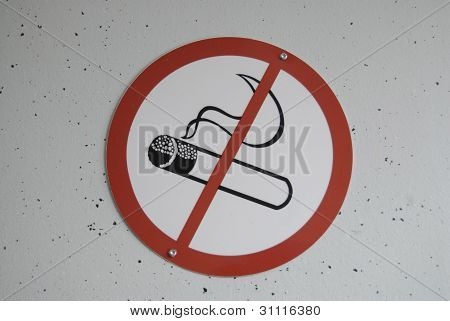 Denmark_no Smoking Sign