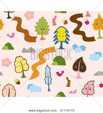 My Tree Friends Pattern