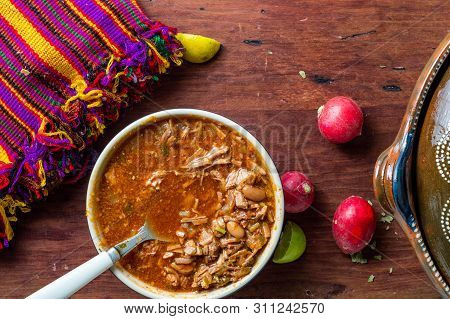 Authentic Mexican Birria Stew, A Traditional Food From The State