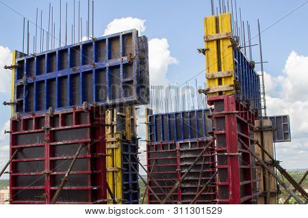 poster of architecture, armature, base, build, cement, concrete, construct, construction, construction site, engineer, engineering, equipment, erector, fitter, formwork, foundation, frame, house, housing, industrial, industry, iron, joiner, liquid, material, metal,