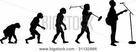 evolution of music man