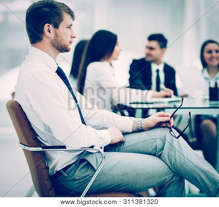 Leading Lawyer Of The Company On The Background Of The Working