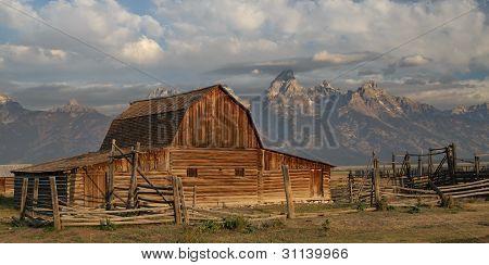 Morman Barn at the Tetons