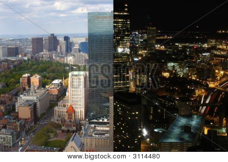 Composite Cityscape View