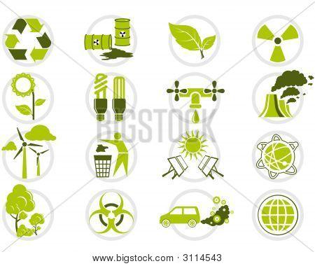 Environmental Protection Icon Set