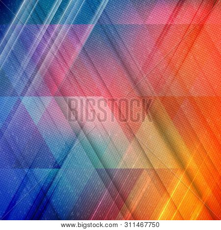 Abstract Retro Halftone Dotted Background. Colorful Vector Illustration. Modern Wallpaper. Backgroun