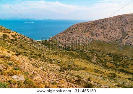 Stara Baska , Krk Island, Adriatic Sea, Croatia, Europe