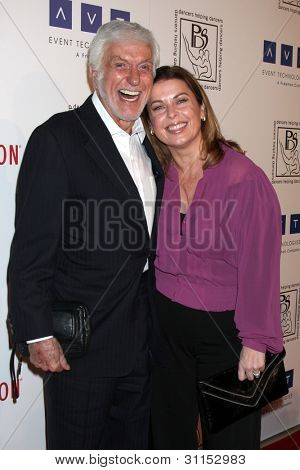 LOS ANGELES - MAR 18:  Dick Van Dyke, wife Arlene Silver arrives at the Professional Dancer's Society Gypsy Awards at the Beverly Hilton Hotel on March 18, 2012 in Los Angeles, CA