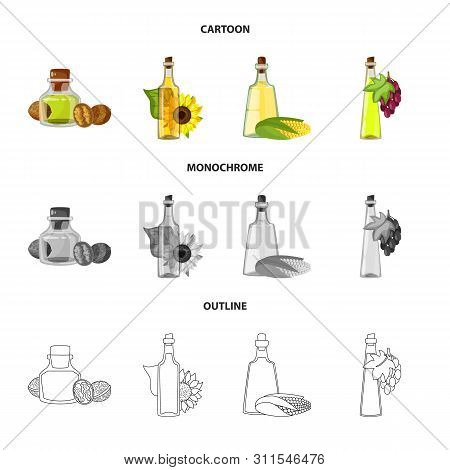 Vector Illustration Of Healthy And Vegetable Icon. Set Of Healthy And Agriculture Stock Vector Illus