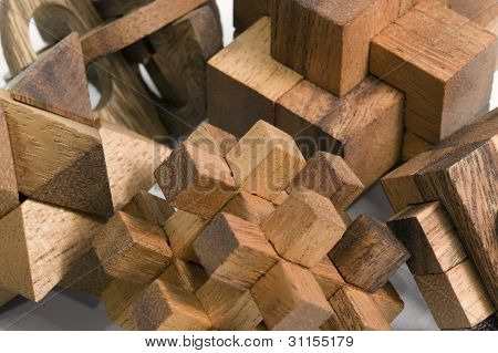 Wooden 3D Puzzles