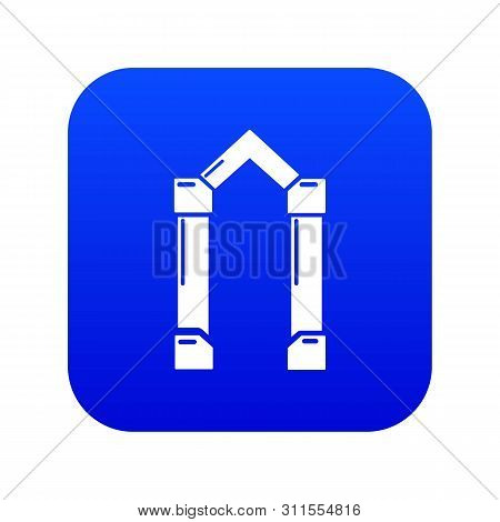 Archway Element Icon. Simple Illustration Of Archway Element Vector Icon For Web