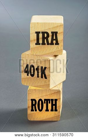 Building Blocks Of Investment,ira, 401k And Roth.