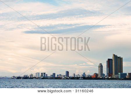 Manila City Skyline