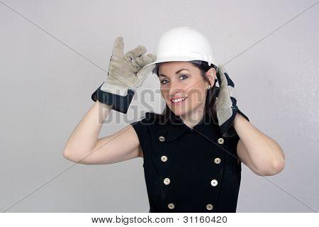 Beautiful Female Construction Worker (6)