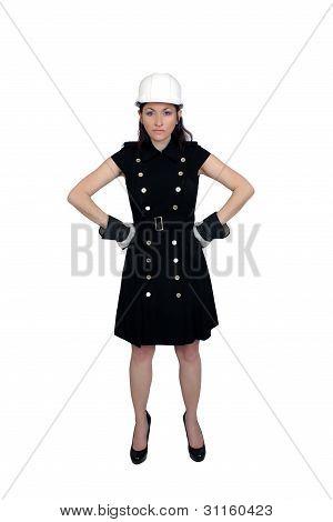 Beautiful Female Construction Worker (7)