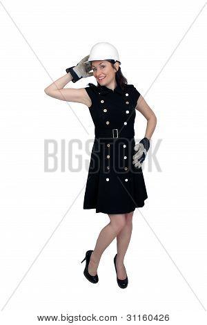 Beautiful Female Construction Worker (8)