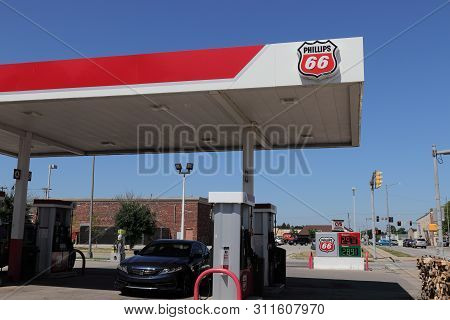 Lebanon - Circa July 2019: Phillips 66 Company Retail Location. Phillips 66 Is An American Energy Co