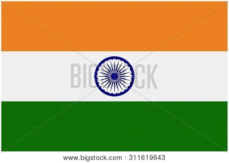 The National Flag Of India Is A Horizontal Rectangular Tricolour Of India Saffron, White And India G