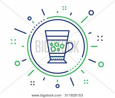 Frappe Coffee Icon. Cold Drink Sign. Beverage Symbol. Quality Design Elements. Technology Frappe But