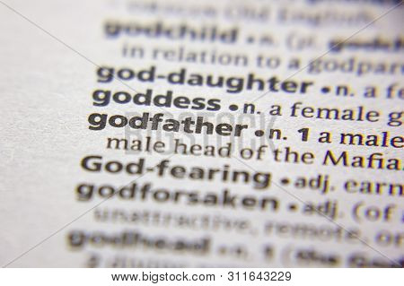 Word Or Phrase Godfather In A Dictionary