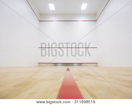 Squash Court Gym Room Wall Sport Exercise Background