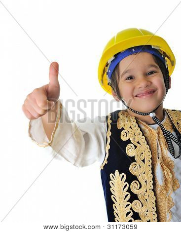 Future construction worker
