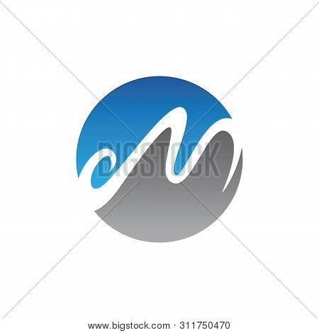 M Logo And Symbols Template Illustration