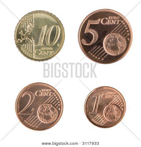 Small Euro Coins